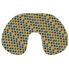 Abstract Seamless Pattern Travel Neck Pillows