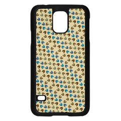 Abstract Seamless Pattern Samsung Galaxy S5 Case (Black)