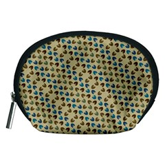 Abstract Seamless Pattern Accessory Pouches (Medium)