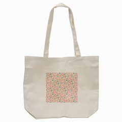 Geometric Abstract Triangles Background Tote Bag (Cream)