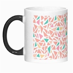 Geometric Abstract Triangles Background Morph Mugs