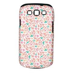 Geometric Abstract Triangles Background Samsung Galaxy S III Classic Hardshell Case (PC+Silicone)