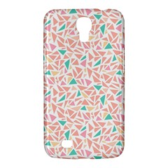 Geometric Abstract Triangles Background Samsung Galaxy Mega 6.3  I9200 Hardshell Case
