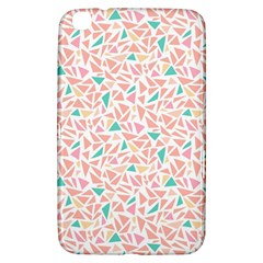 Geometric Abstract Triangles Background Samsung Galaxy Tab 3 (8 ) T3100 Hardshell Case