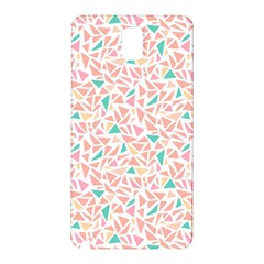 Geometric Abstract Triangles Background Samsung Galaxy Note 3 N9005 Hardshell Back Case
