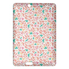 Geometric Abstract Triangles Background Amazon Kindle Fire HD (2013) Hardshell Case
