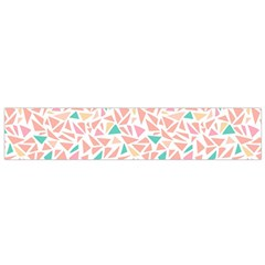 Geometric Abstract Triangles Background Flano Scarf (Small)