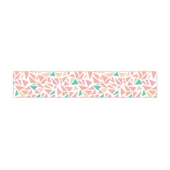 Geometric Abstract Triangles Background Flano Scarf (Mini)