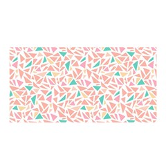 Geometric Abstract Triangles Background Satin Wrap