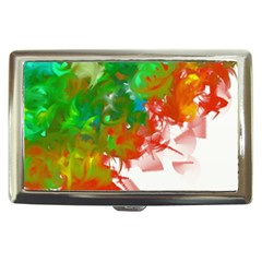 Digitally Painted Messy Paint Background Texture Cigarette Money Cases