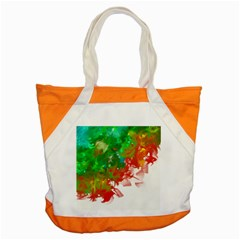 Digitally Painted Messy Paint Background Texture Accent Tote Bag