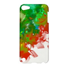 Digitally Painted Messy Paint Background Texture Apple Ipod Touch 5 Hardshell Case