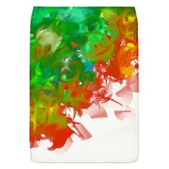 Digitally Painted Messy Paint Background Texture Flap Covers (S)