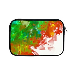 Digitally Painted Messy Paint Background Texture Apple iPad Mini Zipper Cases
