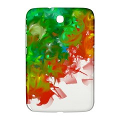 Digitally Painted Messy Paint Background Texture Samsung Galaxy Note 8.0 N5100 Hardshell Case