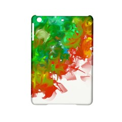 Digitally Painted Messy Paint Background Texture iPad Mini 2 Hardshell Cases