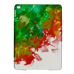 Digitally Painted Messy Paint Background Texture iPad Air 2 Hardshell Cases