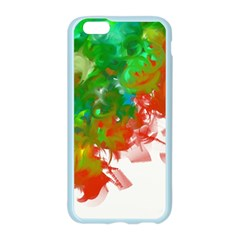 Digitally Painted Messy Paint Background Texture Apple Seamless iPhone 6/6S Case (Color)