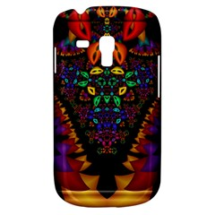 Symmetric Fractal Image In 3d Glass Frame Galaxy S3 Mini