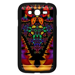Symmetric Fractal Image In 3d Glass Frame Samsung Galaxy Grand DUOS I9082 Case (Black)
