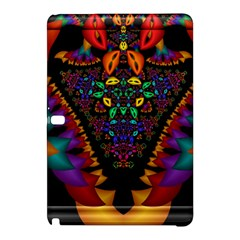Symmetric Fractal Image In 3d Glass Frame Samsung Galaxy Tab Pro 12.2 Hardshell Case