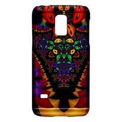 Symmetric Fractal Image In 3d Glass Frame Galaxy S5 Mini