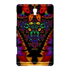 Symmetric Fractal Image In 3d Glass Frame Samsung Galaxy Tab S (8 4 ) Hardshell Case