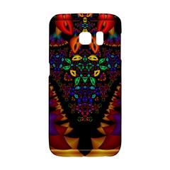 Symmetric Fractal Image In 3d Glass Frame Galaxy S6 Edge