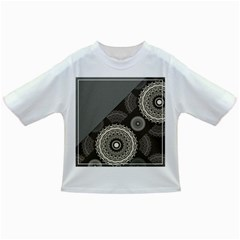 Abstract Mandala Background Pattern Infant/Toddler T-Shirts