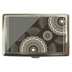 Abstract Mandala Background Pattern Cigarette Money Cases