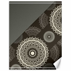 Abstract Mandala Background Pattern Canvas 12  X 16