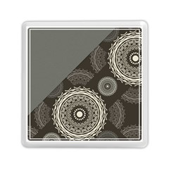 Abstract Mandala Background Pattern Memory Card Reader (square)