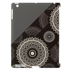 Abstract Mandala Background Pattern Apple iPad 3/4 Hardshell Case (Compatible with Smart Cover)
