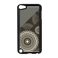 Abstract Mandala Background Pattern Apple iPod Touch 5 Case (Black)