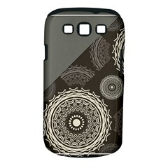 Abstract Mandala Background Pattern Samsung Galaxy S III Classic Hardshell Case (PC+Silicone)
