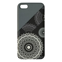 Abstract Mandala Background Pattern Apple iPhone 5 Premium Hardshell Case