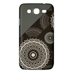 Abstract Mandala Background Pattern Samsung Galaxy Mega 5.8 I9152 Hardshell Case