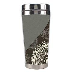 Abstract Mandala Background Pattern Stainless Steel Travel Tumblers