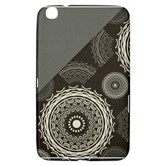 Abstract Mandala Background Pattern Samsung Galaxy Tab 3 (8 ) T3100 Hardshell Case