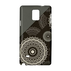 Abstract Mandala Background Pattern Samsung Galaxy Note 4 Hardshell Case