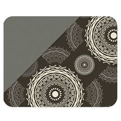 Abstract Mandala Background Pattern Double Sided Flano Blanket (Medium)