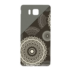 Abstract Mandala Background Pattern Samsung Galaxy Alpha Hardshell Back Case