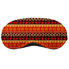 Abstract Lines Seamless Pattern Sleeping Masks