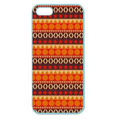 Abstract Lines Seamless Pattern Apple Seamless iPhone 5 Case (Color)