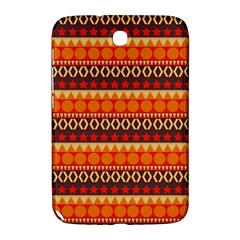 Abstract Lines Seamless Pattern Samsung Galaxy Note 8 0 N5100 Hardshell Case