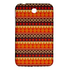 Abstract Lines Seamless Pattern Samsung Galaxy Tab 3 (7 ) P3200 Hardshell Case