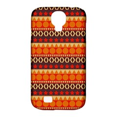 Abstract Lines Seamless Pattern Samsung Galaxy S4 Classic Hardshell Case (PC+Silicone)