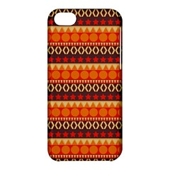 Abstract Lines Seamless Pattern Apple iPhone 5C Hardshell Case