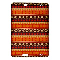 Abstract Lines Seamless Pattern Amazon Kindle Fire HD (2013) Hardshell Case
