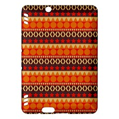 Abstract Lines Seamless Pattern Kindle Fire HDX Hardshell Case